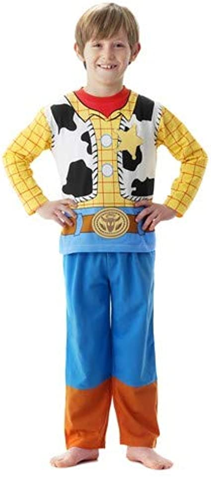 Playama - Pijama disfraz woody toy story talla 3-4 años: Amazon.es ...