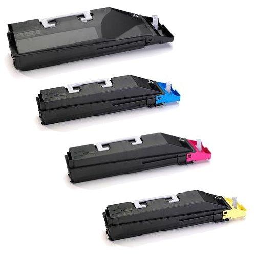 Copystar CS-500ci Toner Cartridge Set (OEM) Black. Cyan. Magenta. Yellow -  Kyocera, TK-859C