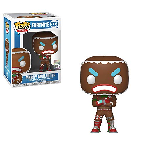 Funko Pop! Games: Fortnite - Merry Marauder Collectible Figure, Multicolor