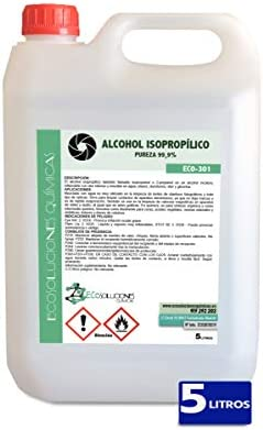 Ecosoluciones Químicas ECO-301 | 5 litros | Alcohol Isopropílico ...
