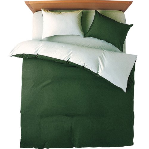 日本製 B00HV57RH6 モスグリーン ダブル カバー4点セット メリーナイト モスグリーン ベッド用 FROM モスグリーン