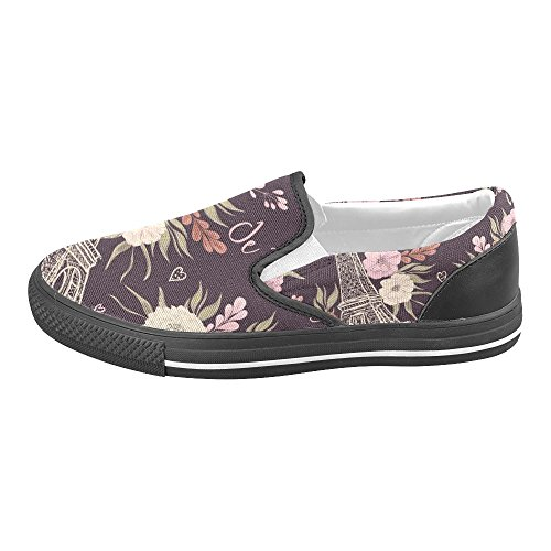 Custom Slip Canvas Womens Multicoloured1 Fashion Sneakers Unique Shoes Loafers Unusual Debora on U50wxTqSR