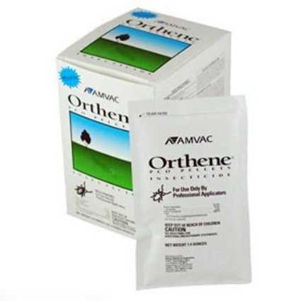 Orthene Pco Pellets Kills Pesticide Resistant Roaches Not Forsale To New York ; CA; AK; CT