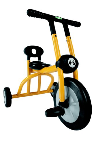 Italtrike Yellow Tricycle, 1 seat
