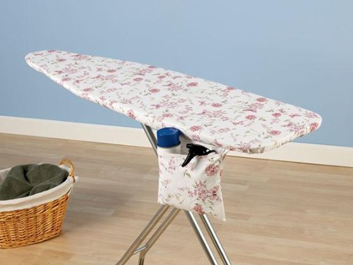 """Spring Meadow Ironing Board Cover And Pad, 15"""" WIDE, MULTI"""