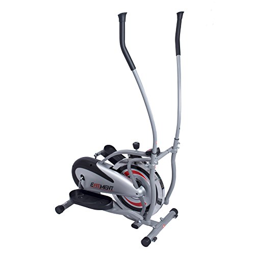 EFITMENT Flywheel Elliptical Machine Cross Trainer - - Trainer Rim Drive