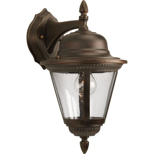 Transitional Twenty Light One (Progress Lighting P5863-20 1-Light Wall Lantern, Antique Bronze)