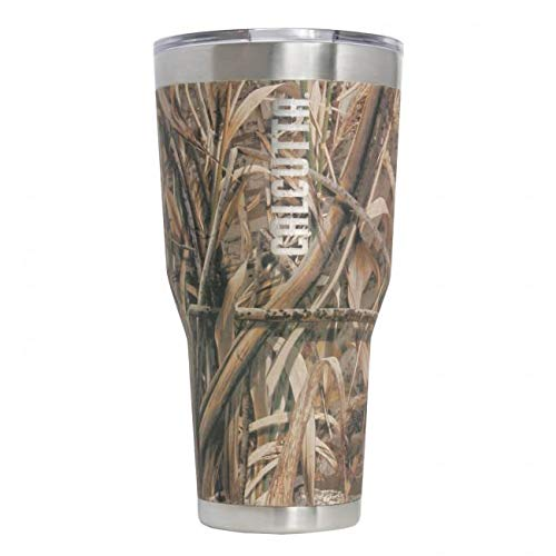 Calcutta Traveler 30oz Stainless Steel Vacuum Sealed Tumbler with Lid, Realtree Max5 Camo