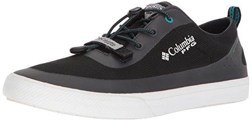 Columbia PFG Men's Dorado CVO PFG Sneaker, Black, Emerald sea, 12 Regular ()