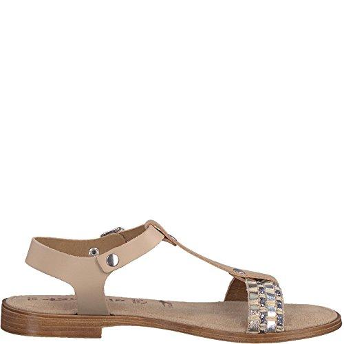28149 Womens Tamaris Leather 1 20 Comb Sandals Nature qSzwAzr1d