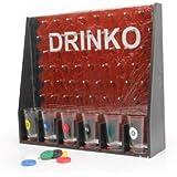 【合コン パーティー で楽しく ゲーム♪】どこに落ちるかドキドキしちゃう テキーラショットグラス 6つ SET アメリカ ヨーロッパーのパーティーで人気の Bar ゲームをいち早く紹介♪ DRINKING PARTY GAME ショットグラスゲーム
