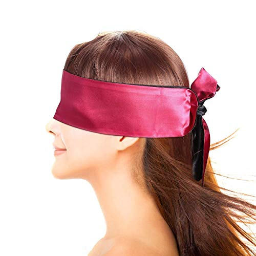 Jelove Feather Tickler and Leather Whip with Satin Blindfold Eye Mask by Jelove (Image #6)