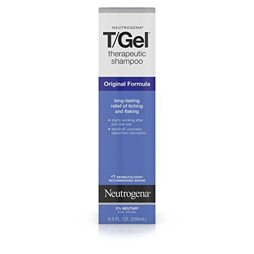 Neutrogena T/Gel Therapeutic Shampoo Original Formula, Anti-Dandruff Treatment for Long-Lasting Relief of Itching and Flaking Scalp as a Result of Psoriasis and Seborrheic Dermatitis, 8.5 fl. oz