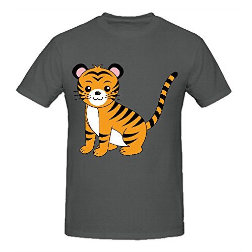 litter-cute-tiger-ultimate-mens-crew-neck-t-shirts-grey