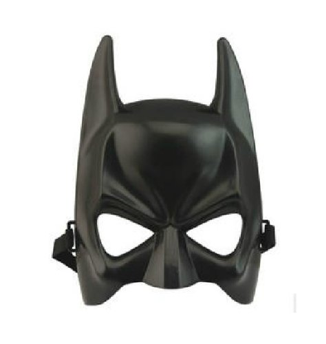 Halloween Masquerade Party Masks Game Play Batman Style Mask - Black