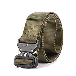 QINGYUN RONGQI 2 Pack Tactical Belt,Mili...