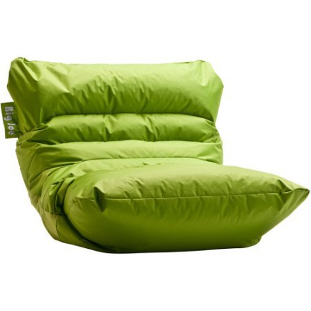 Big Joe Roma Chair with tough, stain resistant, waterproof SmartMax ballistic nylon fabric Perfect for any Room in Multiple Colors (Spicy Lime)