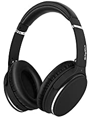 Noise Cancelling Koptelefoon Bluetooth Opvouwbaar,Srhythm NC25 Over-ear Draadloze Koptelefoon met Microfoon,Spraakoproep,Alleen 180g,voor iOS Android TV PC