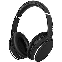 Auriculares de Diadema Estéreo Inalámbricos con Cancelación de Ruido Bluetooth 5.0.Srhythm NC25 (2020) ANC Headhpones con 50H Batería,Micrófono,Asistente de Voz,Modo de Juego de Baja Latencia