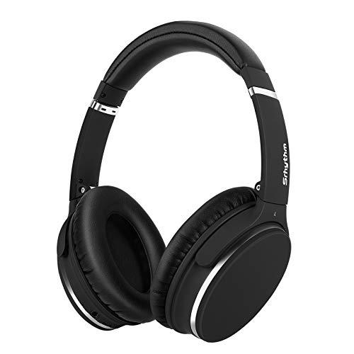 Noise Cancelling Koptelefoon Bluetooth Opvouwbaar,Srhythm NC25 Over-ear Draadloze Koptelefoon met Microfoon,Spraakoproep…