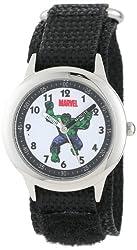 Marvel Kids' W000127 Hulk Stainless Steel Time Teacher Watch