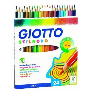 2 X Giotto Stilnovo pastelli colorati in astuccio 24 colori  Amazon ... 797435d8396