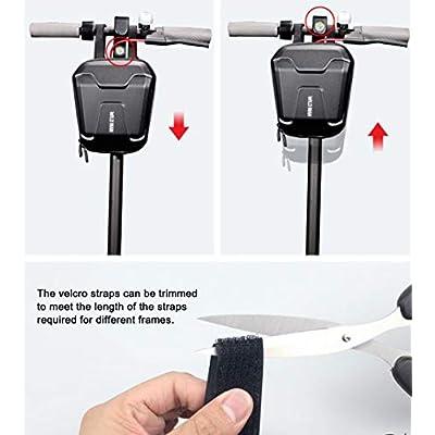 WILD MAN 2.5L Hard Shell Rainproof Scooter Storage Bag for Kick Scooters Folding Bike Kick Board (TS9) : Sports & Outdoors