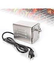 HUKOER SP-S40 akcesoria do grilla ze stali nierdzewnej do pieczenia silnik elektryczny koza świnka kurczak grill rożen roster grill grill grill na zewnątrz grill