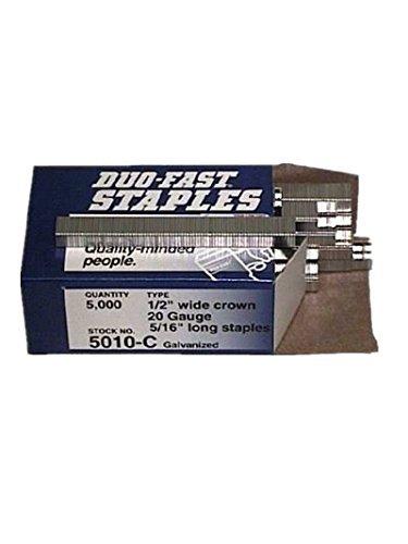 per poco costoso Duo Fast 5010-c Box of 5000 5 16 inch Staples Staples Staples (sold by 2 Pack) By Duo-Fast  prendiamo i clienti come nostro dio