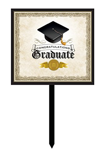 Congrats Grad Yard Sign - 1