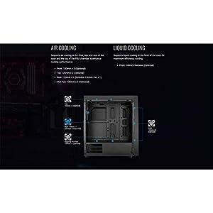 Aerocool Bolt RGB PC Gaming Case, ATX/Micro-ATX/Mini-ITX, Acrylic Side Panel, RGB LED Strip Included, 13 Lighting Modes…