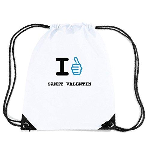 JOllify SANKT VALENTIN Turnbeutel Tasche GYM2788 Design: I like - Ich mag A9QH2e