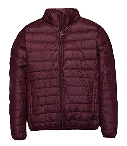 Mogogo Pure Fit Plus Down Coat Regular Size Light Mens Full Duck Color Weight Zip AS3 w8rt48qnX