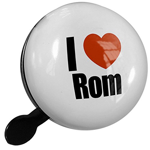 Small Bike Bell I Love Rom Italy, Europe - NEONBLOND by NEONBLOND