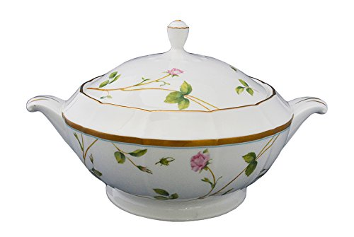 Adeline Bone China By Narumi, Blooming Rosy Lane Casserole W/ Cover, ()