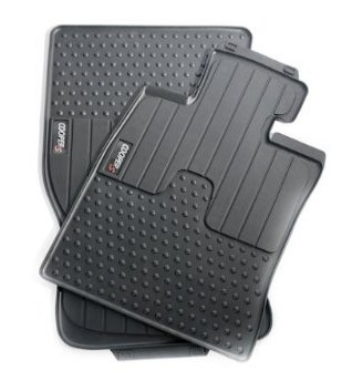 MINI COOPER S CLUBMAN RUBBER FRONT FLOOR MATS R55 SET OF TWO