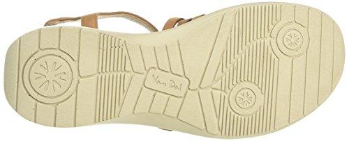 Van Dal Damen Soft Trek Offene Sandalen mit Keilabsatz Beige (Tan Nubuck)