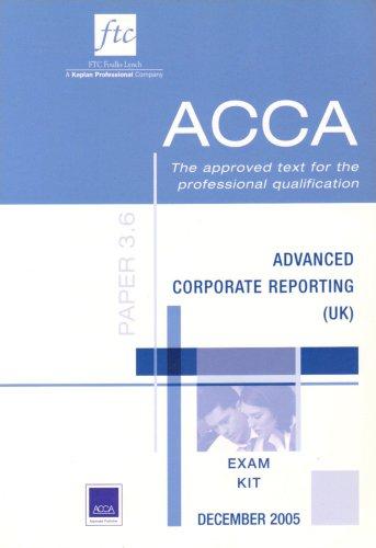 Advanced Corporate Reporting UK Stream Updates for Syllabus Change (ACCA Exam Kit)