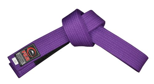 Fuji BJJ Belt, Purple, A2 (Brazilian Jiu Jitsu Purple Belt)