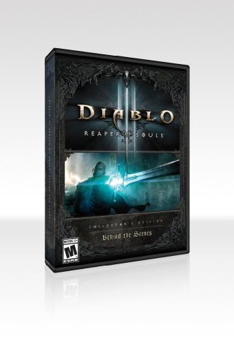 Diablo III: Reaper of Souls Collector's Edition Behind The Scenes DVD and Blu-Ray Two-Disc Set