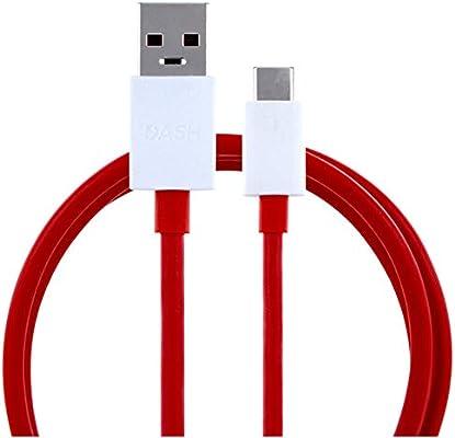 Vinciann Fuente de alimentación Cargador rápido Dash Original OnePlus + Cable USB-C 6 5T dc0504