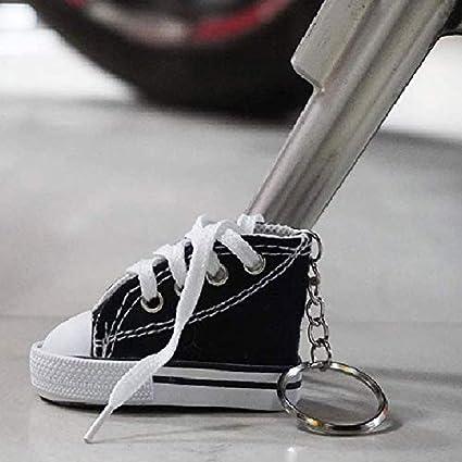Xihuanni Fahrradfußstütze Kleine Schuhe Motorrad Kickstand Pad Streu Schuh Motorrad Fahrrad Fußstütze Schuhe Küche Haushalt