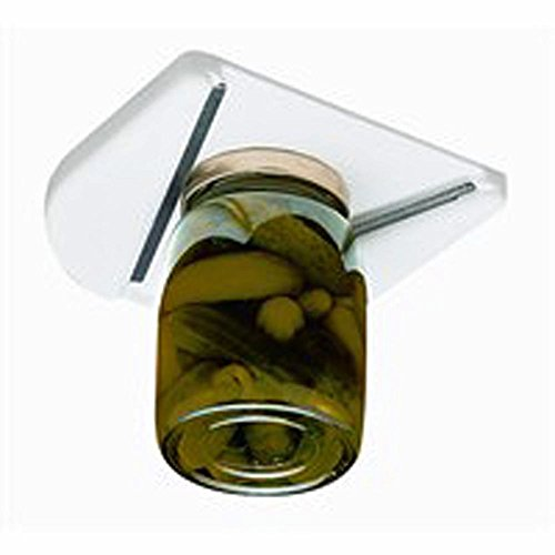 (Under Cabinet Jar Opener Vise V Shaped Wedge Kitchen Counter Lid Bottle Cap)