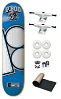 Plan B P.Rod Paul Rodrigues Jersey 7.75 Skateboard Deck Complete White Trucks White Wheels from Plan B