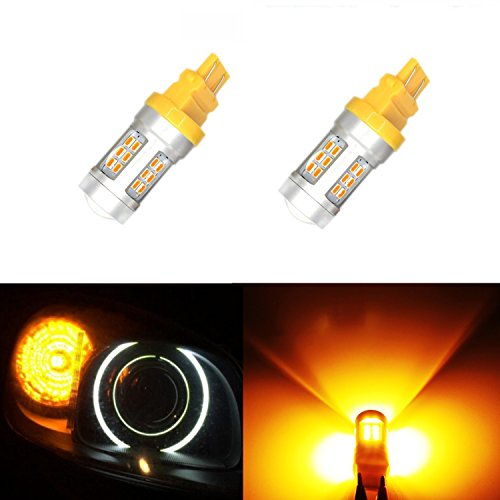 JDM ASTAR Extremely Bright PX Chipsets 3056 3156 3157 4157 LED Bulbs ,Amber Yellow(Brightest Turn Signal Bulb on the Market)