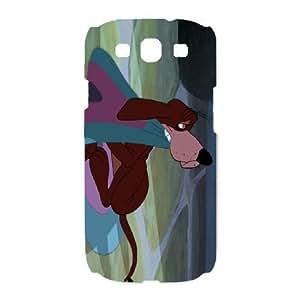 Samsung Galaxy S3 I9300 Phone Cese White Cinderella Bruno the Dog LF2760484