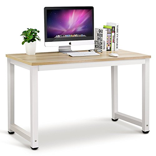 41INRitueDL - Tribesigns Modern Simple Style Computer Desk PC Laptop Study Table Workstation for Home Office