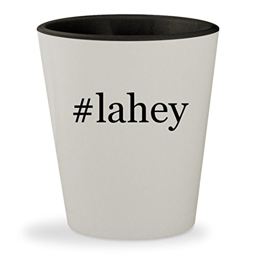 #lahey - Hashtag White Outer & Black Inner Ceramic 1.5oz Shot - Am Burlington