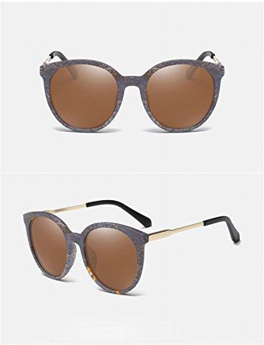 sonnenbrillen Männer und frauen polarisierte sonnenbrille klassische helle farbe sonnenbrille fahrspiegel mode brille helle schwarze rahmen schwarze graue Linse ruaYfYIuE