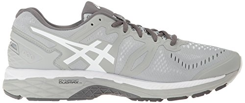 ASICS 23 Shoe Gel Kayano Grey Carbon White Running Men Mid UqtraUw